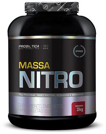 Massa Nitro - 3 Kg - Probiótica