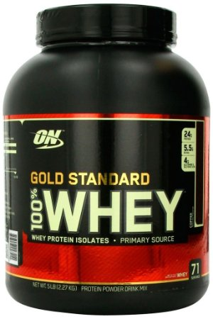 Whey Gold Standard 100% 5 lbs ( 2,27 kg)