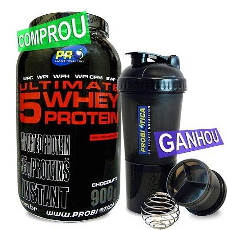 Ultimate 5 Whey Protein (900g) Probiótica