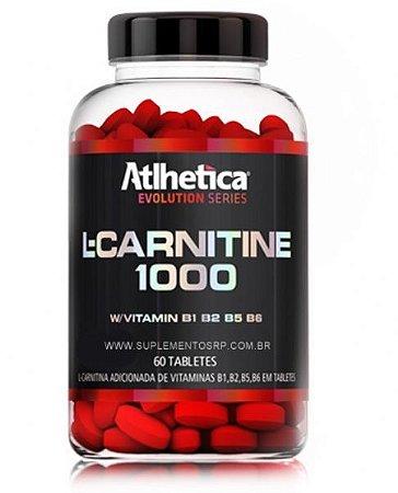 L- Carnitina 1000 - (60 tabs)- atlhetica evolution