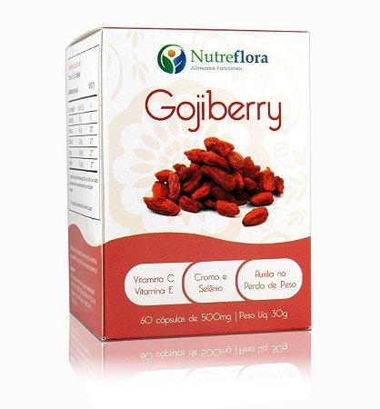 Gojiberry 500mg - 60 Cápsulas - Nutreflora