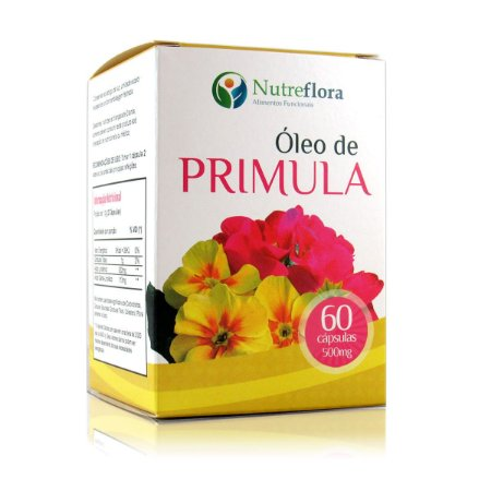 Óleo de Prímula 500mg - Evening Primrose Oil 60 caps