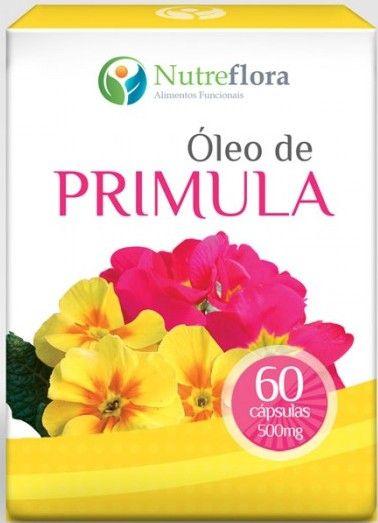 Óleo de Prímula 500mg - Evening Primrose Oil 60 caps