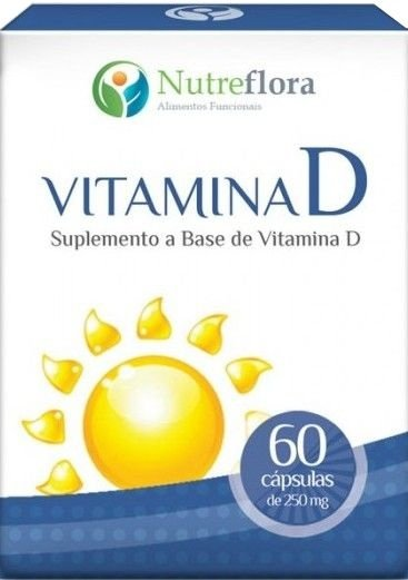Vitamina D  250mg (60 cáps) - Nutreflora