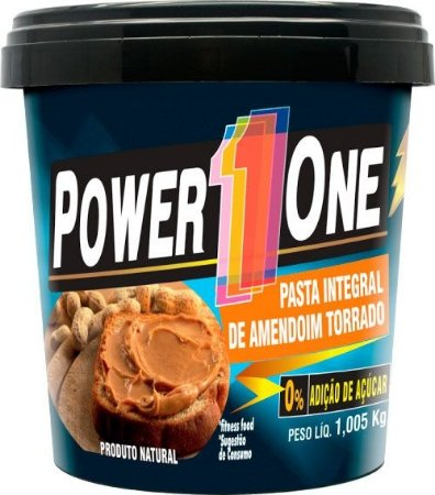 Pasta de Amendoim (1000g) - Power1One