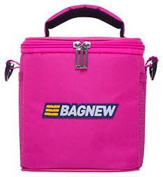 Bolsa Térmica Fitness Pequena com acessórios - rosa