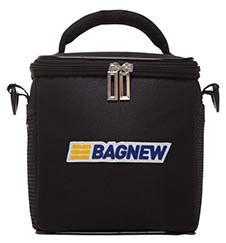 Bolsa Térmica Fitness Pequena com acessórios - preta