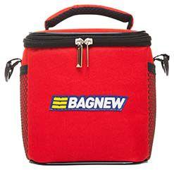 Bolsa Térmica Fitness Pequena com acessórios - vermelha