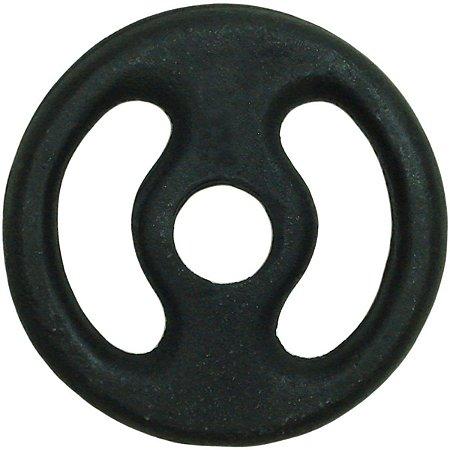Anilha de ferro de 1 Kg da TURBO FITNESS