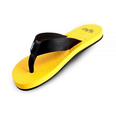 Chinelo Ortopédico Fly Feet Yellow Race AC44 Orthopauher