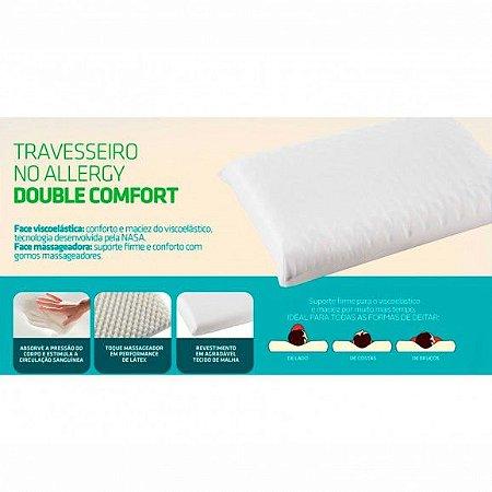Travesseiro No Allergy Double Comfort