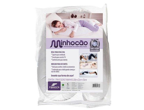 Travesseiro Body Confort (Minhocão) Fibrasca