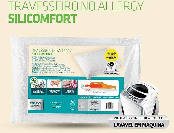 Travesseiro No Allergy Silicomfort