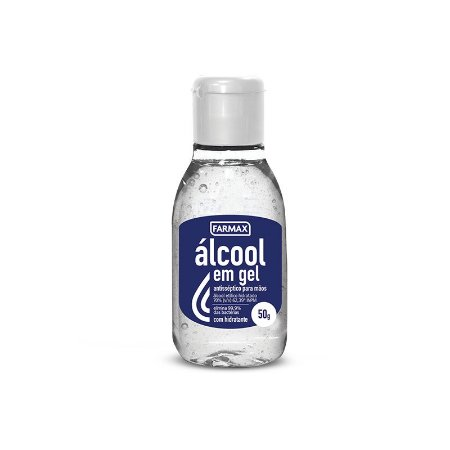 Álcool em Gel 70% 50gr Farmax