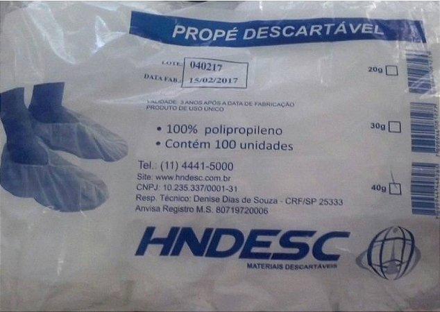 Propé Descartável HNDESC