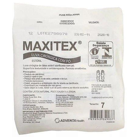 Luva Cirúrgica Estéril com Pó Maxitex