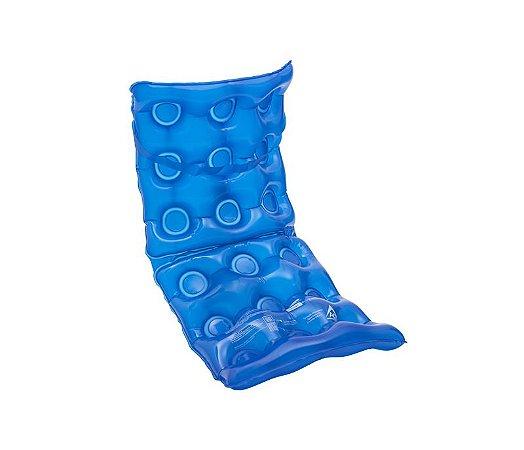 Forração Ortopédica Assento Água com Encosto Inflável