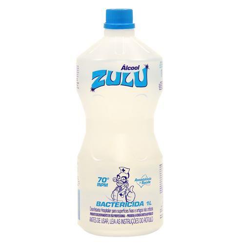 Álcool 70% Zulu 1000ml