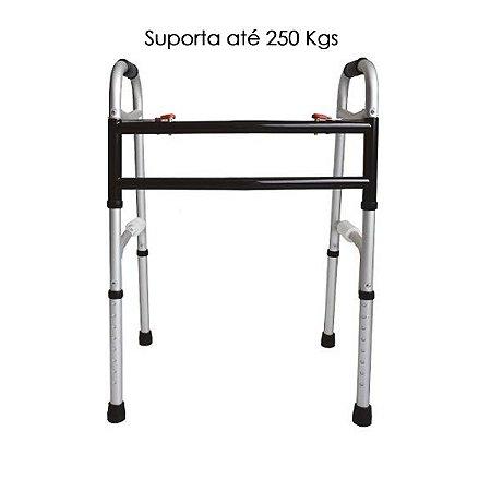 Andador 2 em 1 suporte de peso até 250 kg  ** (Combinar Forma de Envio)