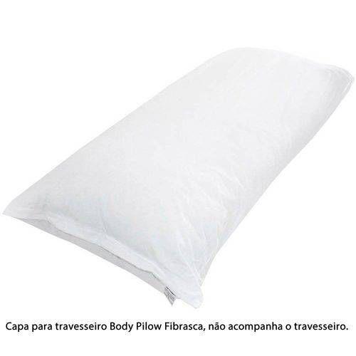 Capa Para Travesseiro de Corpo Body Pillow 40cmx1,30cm Fibrasca