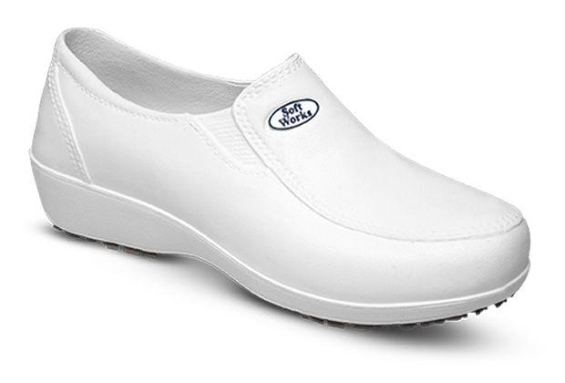 Sapato em EVA Antiderrapante Branco REF. BB95 Soft Works