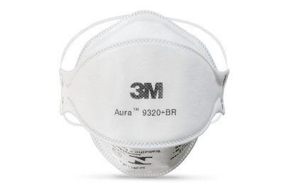 Máscara Respirador Descartável 3M™ Aura 9320+BR PFF-2