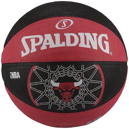BOLA DE BASQUETE NBA CHICAGO BULLS SPALDING