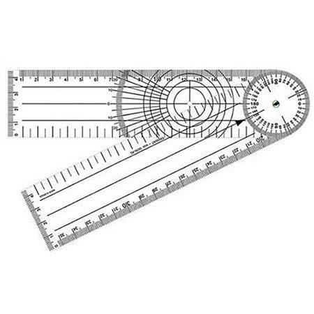 Goniômetro Para Ortopedia Gd 200X45mm Pvc