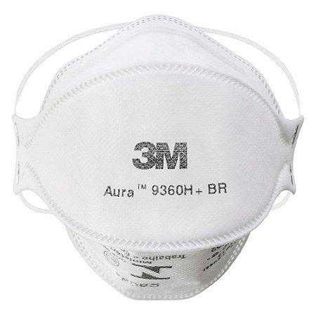 Máscara Respiradora Aura Fluídos 9360H+BR 3M