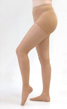 Meia Compressiva Sheer & Soft 15-20 Meia Calça Pé Fechado Natural