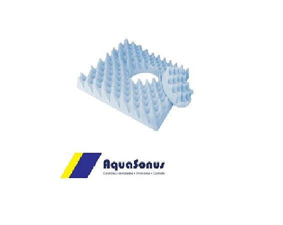 Almofada Espuma Caixa De Ovo Quadrada Com Orifício Aquasonus