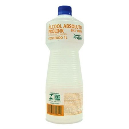 Álcool 99,3% Saneante 1000ml (Absoluto) Prolink