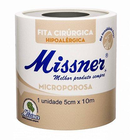 Fita Microporosa Branca 5cmX4,5m Missner