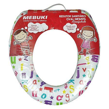 Redutor Sanitário Infantil Oval Almofadado