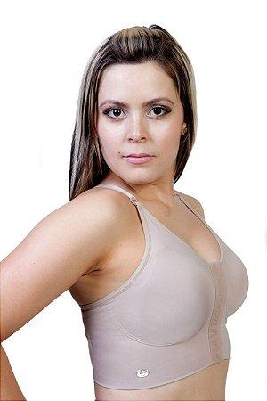 Sutiã Pós Cirúrgico Nadador Abertura Frontal