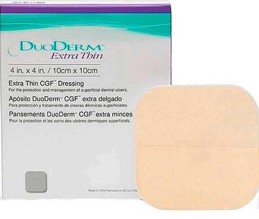Curativo Duoderm Hidrocoloide Extra Fino Convatec 10x10 Caixa com 10