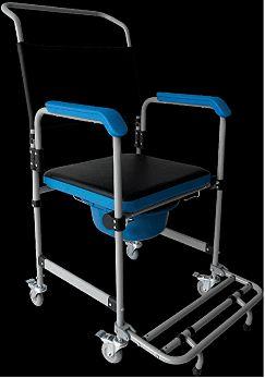 Cadeira De Banho Em Aço D50 Dellamed