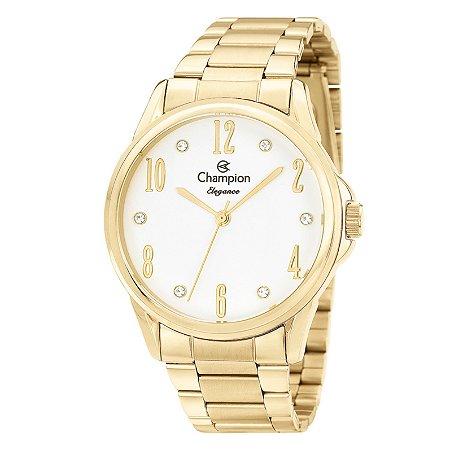 Relógio Champion Feminino Analógico Dourado CN26242H