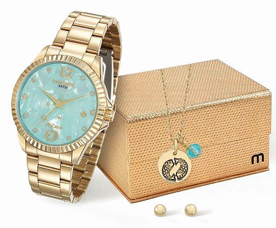 Relógio Feminino Mondaine Zodíacos - Peixes + Conjunto