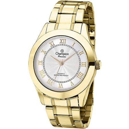 Relógio Champion Feminino Analógico Dourado CH24544H