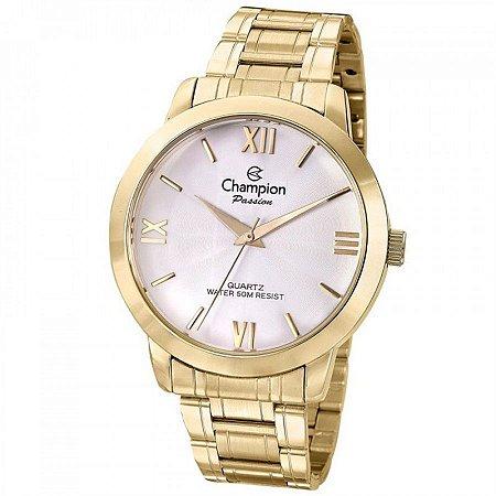 Relógio Champion Feminino Analógico Dourado CN28704H