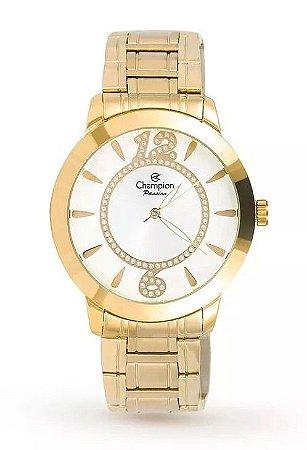 Relógio Champion Feminino Analógico Dourado ch24259h