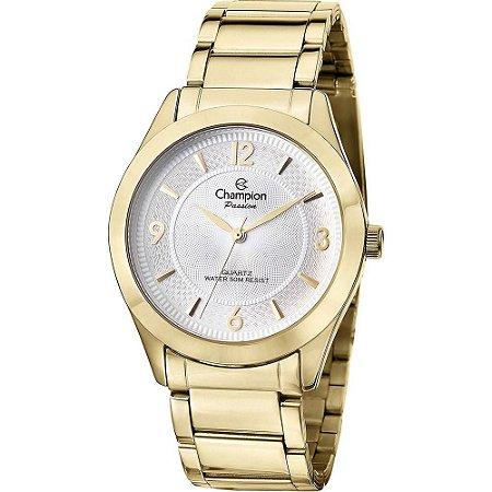 Relógio Champion Feminino Analógico Dourado CN28866H