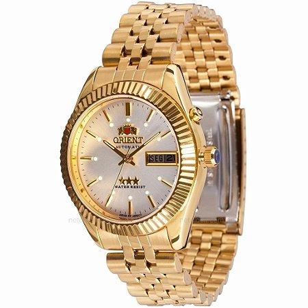 307d7240840 Relógio Orient Feminino Automático Dourado 469EC7B1KX - Estrela ...