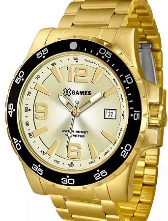 19169e88f95 Relógio XGames Masculino Analógico Dourado XMGS1027C2KX - Estrela ...