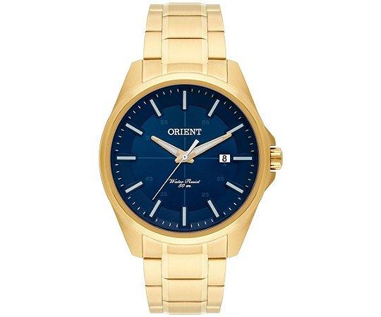 430c5fee4fc Relógio Orient Masculino Analógico Dourado MGSS1128 D1KX - Estrela ...