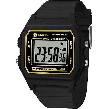 Relógio X-Games Masculino Digital Preto XGPPD110PXPX