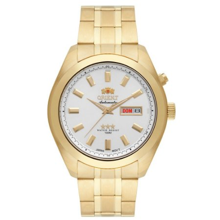 Relógio Orient Masculino Analógico Dourado 469GP075S1KX