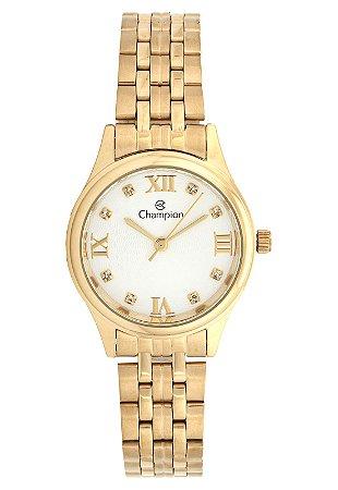 Relógio Champion Feminino Analógico Dourado CH24900H