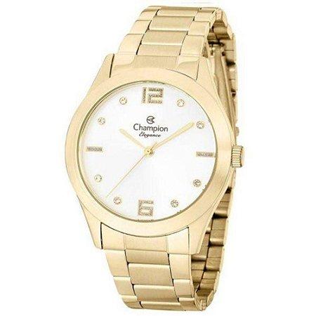 Relógio Champion Feminino Analógico Dourado CN25145H